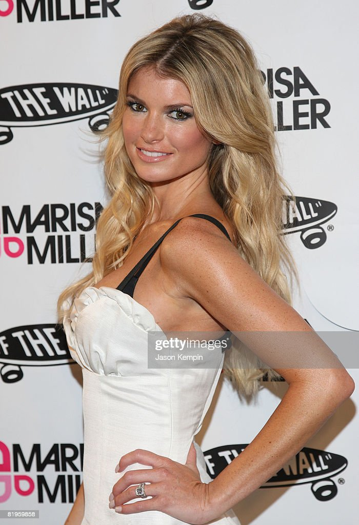 Model Marisa Miller attends an Evening Celebrating Vans by Marisa Miller at The Cabanas at the Maritime Hotel on July 16, 2008 in New York City.