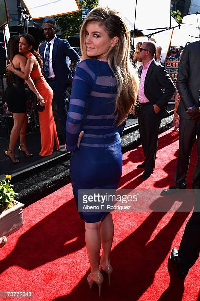 Model Marisa Miller attends The 2013 ESPY Awards at Nokia Theatre LA Live on July 17 2013 in Los Angeles California