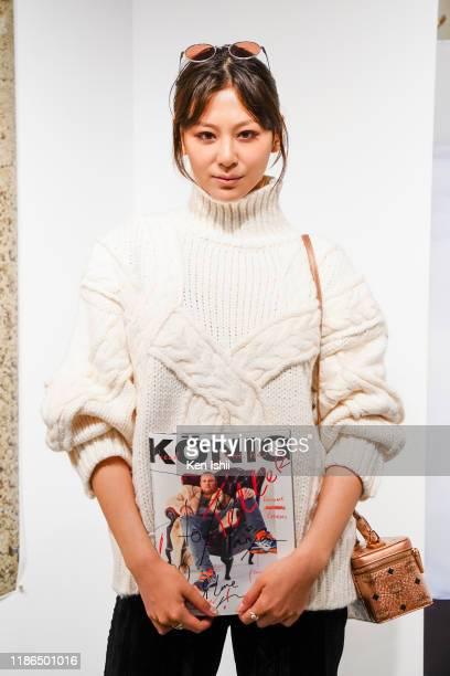 Model Mariya Nishiuchi attends the Konig Tokio At MCM Ginza Haus 1 Opening Show with Juergen Teller on November 09, 2019 in Tokyo, Japan.