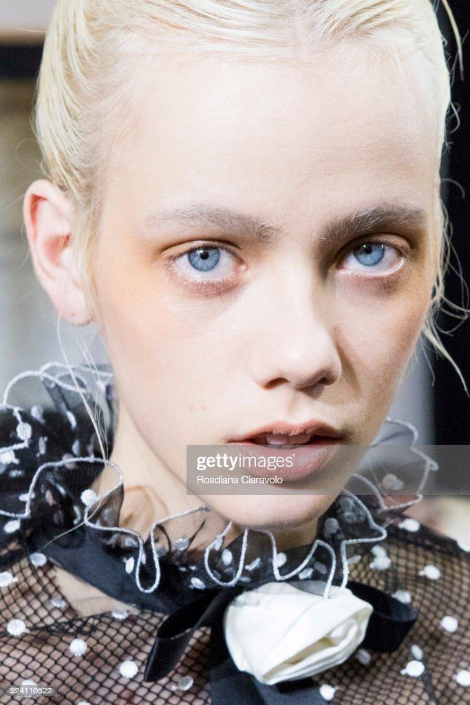 Philosophy Di Lorenzo Serafini - Backstage - Milan Fashion Week Fall/Winter 2018/19