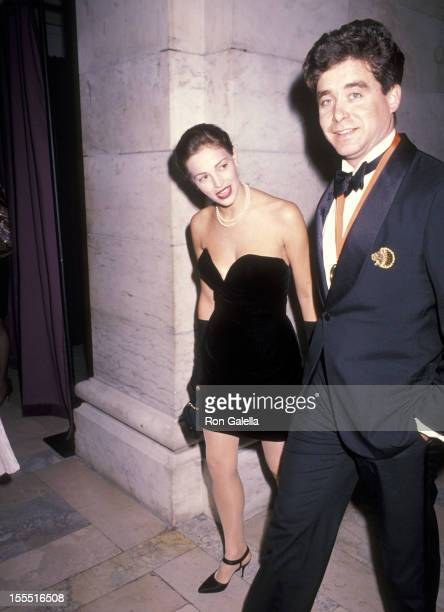 Model Marla Hansen and writer Jay McInerney attend A Decade of Literary Lions The Pride of The New York Public Library Gala to Benefit the Library's...