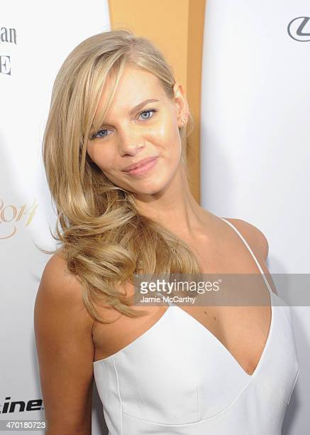 Model Marloes Horst attends the Sports Illustrated Swimsuit 50 Years of Swim in NYC Celebration at the Sports Illustrated Swimsuit Beach House on...
