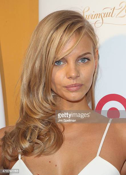 Model Marloes Horst attends the Sports Illustrated Swimsuit 50th Anniversary Party at Swimsuit Beach House on February 18 2014 in New York City