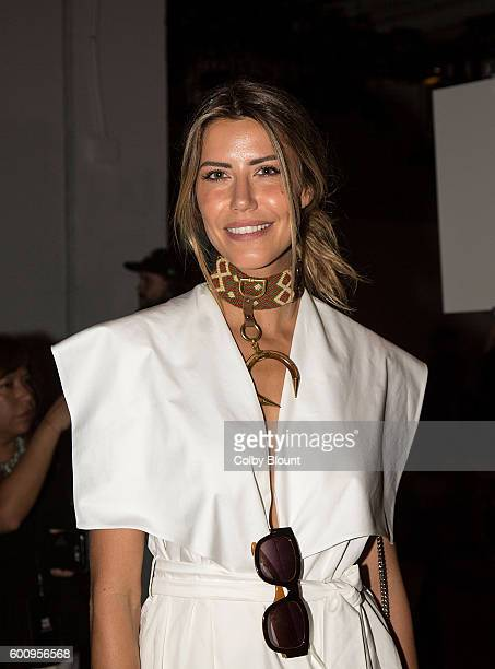 Model Martha Graeff attends the Noon By Noor fashion show during New York Fashion Week The Gallery Skylight at Clarkson Sq on September 8 2016 in New...