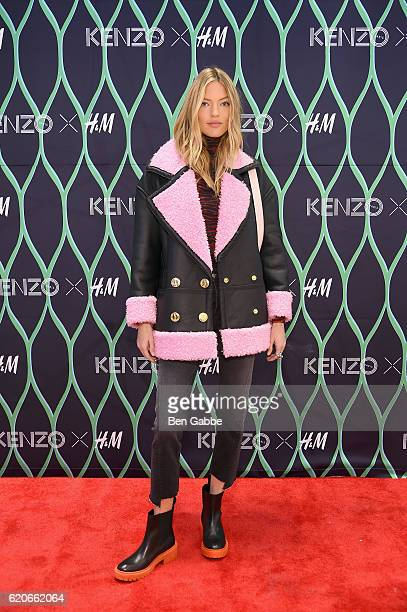 Model Martha Hunt attends Kenzo x HM VIP PreShop Event on November 2 2016 in New York City