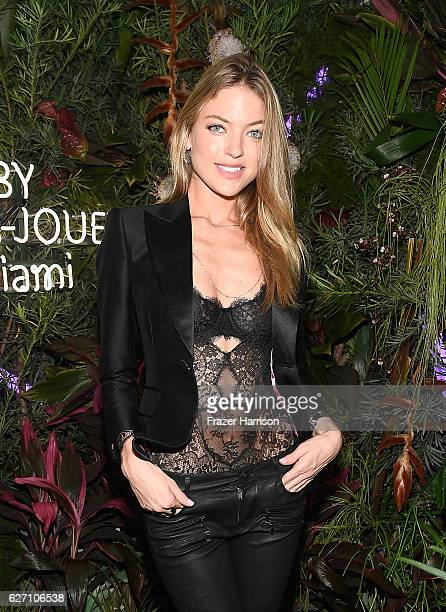Model Martha Hunt attends the L'Eden By PerrierJouet Closing Night at Casa Faena on December 1 2016 in Miami Beach Florida