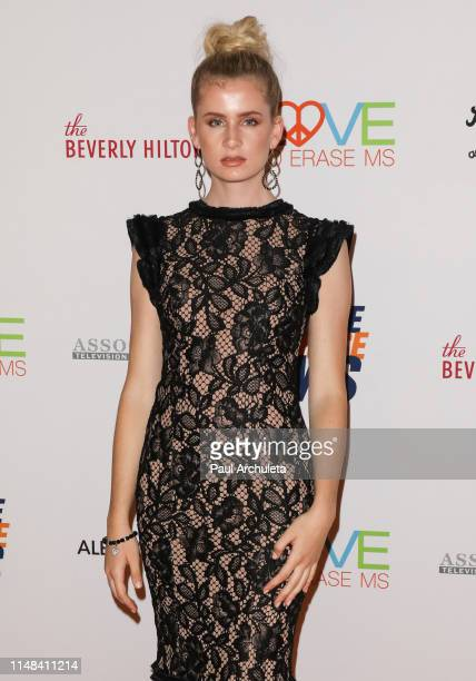 Model Mason Grammer attends the 26th annual Race To Erase MS Gala at The Beverly Hilton Hotel on May 10 2019 in Beverly Hills California