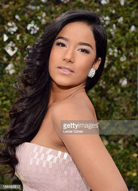 Model Massiel Taveras arrives at the 13th annual Latin GRAMMY Awards held at the Mandalay Bay Events Center on November 15 2012 in Las Vegas Nevada