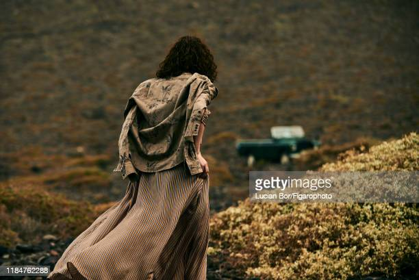 Model Maud Le Fort is photographed for Madame Figaro on November 30 2017 in Lanzarote Spain Shirt dress PUBLISHED IMAGE CREDIT MUST READ Lucian...