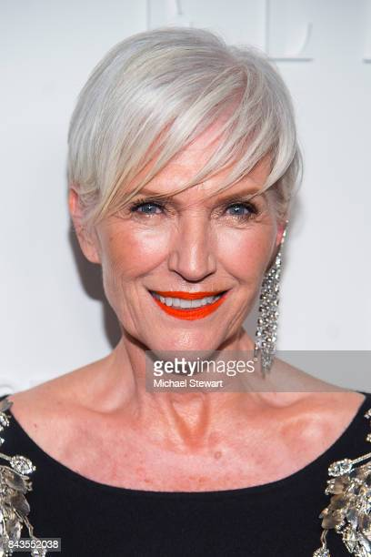 Model Maye Musk attends ELLE E IMG host A Celebration of Personal Style NYFW Kickoff Party on September 6 2017 in New York City