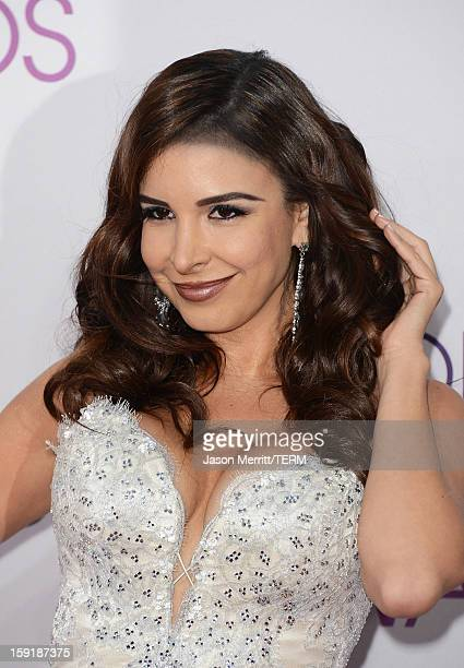 Model Mayra Veronica attends the 39th Annual People's Choice Awards at Nokia Theatre LA Live on January 9 2013 in Los Angeles California