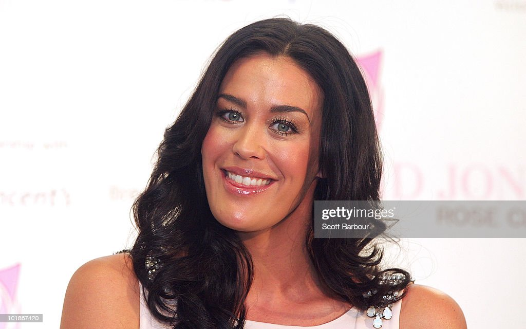 Megan Gale Attends Announcement Of New Women's Health Initiative