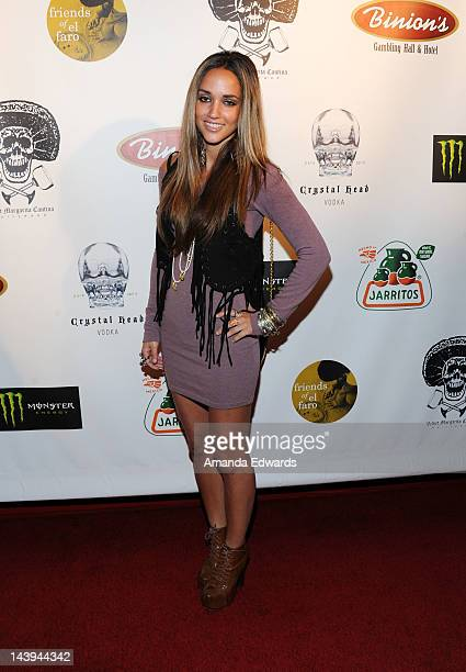 Model Megan Ozurovich arrives at the 8th Annual Cinco de Mayo Benefit With Charity Celebrity Poker Tournament at Velvet Margarita Cantina on May 5...