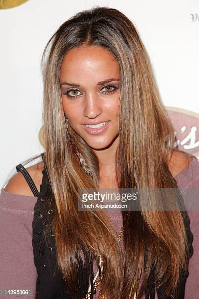 Model Megan Ozurovich attends the 8th Annual Cinco de Mayo Benefit And Charity Celebrity Poker Tournament at Velvet Margarita on May 5 2012 in...