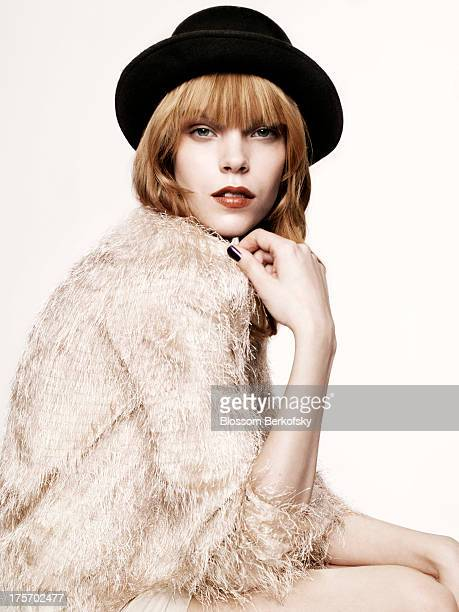 Model Meghan Collison is photographed for a test shoot on September 7 2010 in New York City