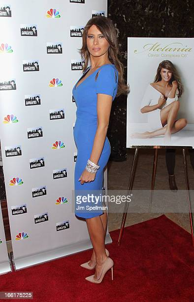 Model Melania Trump attends the 'Celebrity Apprentice AllStar' event at Trump Tower on April 9 2013 in New York City