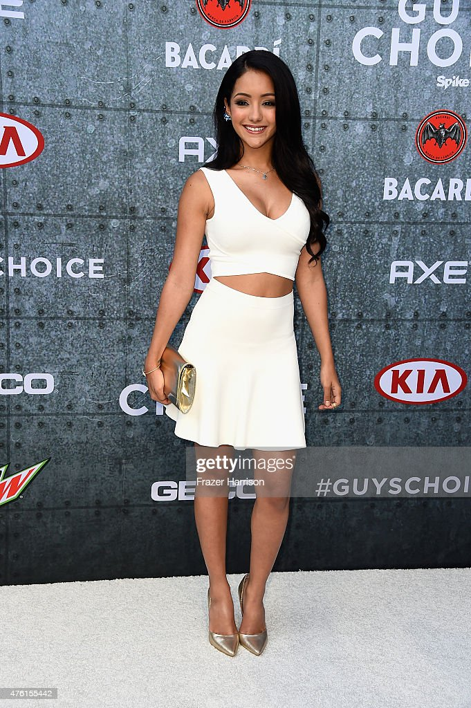 Model Melanie Iglesias attends Spike TV's Guys Choice 2015 at Sony Pictures Studios on June 6, 2015 in Culver City, California.