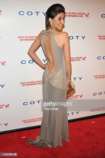 Model Melek Civantürk attends the 6th annual DKMS Linked Against Blood Cancer gala at Cipriani Wall Street on April 26 2012 in New York City