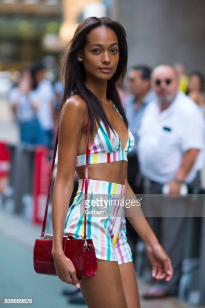 Model Melie Tiacoh attends call backs for the 2017 Victoria's Secret Fashion Show in Midtown on August 21 2017 in New York City