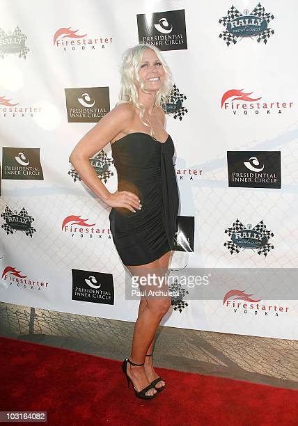 Model Melissa Dawn Taylor attends the Power Players celebrity cruise benefitting Rally For Kids Charity on July 29 2010 in Marina del Rey California