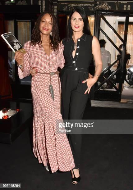 Model Melissa DoucoureÊand Sylvie Ortega MunosÊ attend Sylvie Ortega Munos Book SigningÊ Party at the Montana on July 12 2018 in Paris France