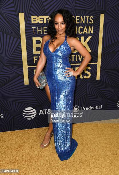 Model Melyssa Ford attends BET Presents the American Black Film Festival Honors on February 17 2017 in Beverly Hills California