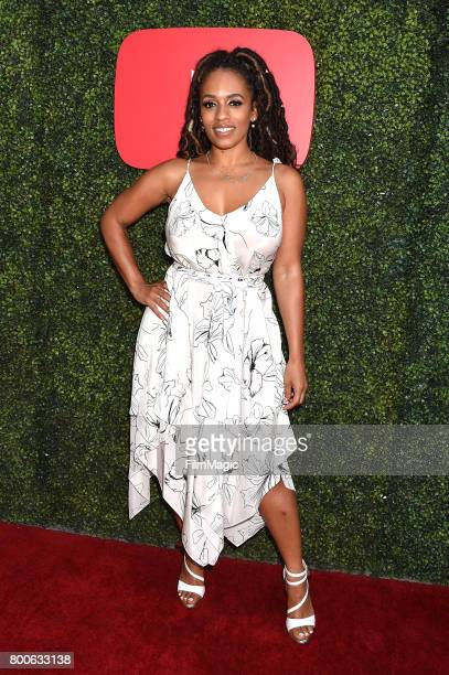 Model Melyssa Ford attends the YouTube Pre BET Awards Showcase at NeueHouse Hollywood on June 24 2017 in Los Angeles California