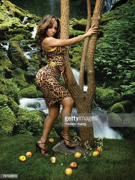 Model Melyssa Ford is photographed in New York for Black Men