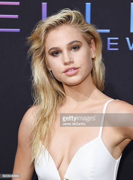 Model Meredith Mickelson attends the Maybelline New York NYFW KickOff Party on September 8 2016 in New York City