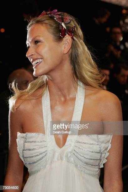 Model Mia Florentine Weiss attends the 34th annual German Film Ball at the Bayerischer Hof Hotel January 20, 2007 in Munich, Germany.