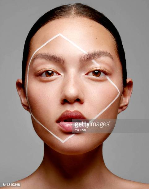 Model Mia Kang is photographed for Self Assignment on March 2 2017 in Los Angeles California