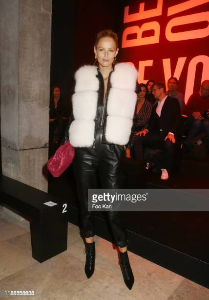 Model Michaela Kocianova attend the Elite Model Looks 36th World Final at Palais de Tokyo 18 2019 in Paris France