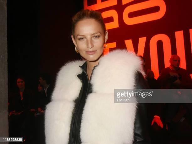 Model Michaela Kocianova attend the Elite Model Looks 36th World Final at Palais de Tokyo 18 2019 in Paris France