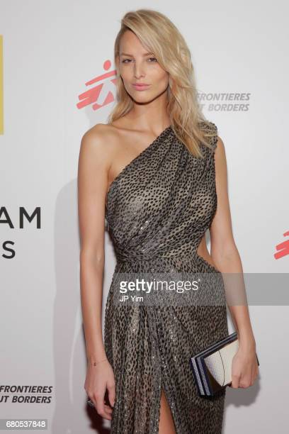Model Michaela Kocianova attends Gotham Cares Gala Fundraiser For The Syrian Refugee Crisis In Support of Medecin Sans Frontieres and The...