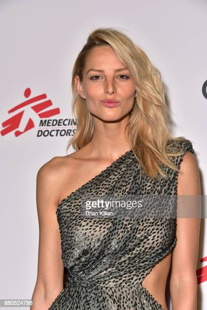 Model Michaela Kocianova attends the Gotham Cares Gala Fundraiser at Cipriani 25 Broadway on May 8 2017 in New York City