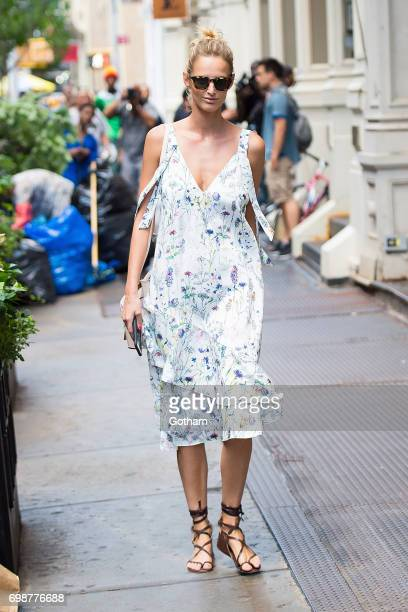 Model Michaela Kocianova is seen in SoHo on June 20 2017 in New York City