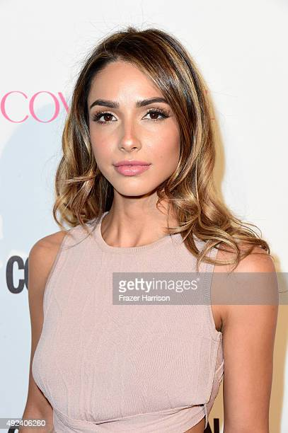 Model Michele Maturo attends Cosmopolitan's 50th Birthday Celebration at Ysabel on October 12 2015 in West Hollywood California