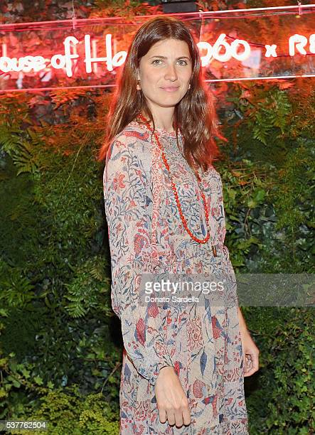 Model Michelle Alves Oseary attends House of Harlow 1960 x REVOLVE on June 2, 2016 in Los Angeles, California.
