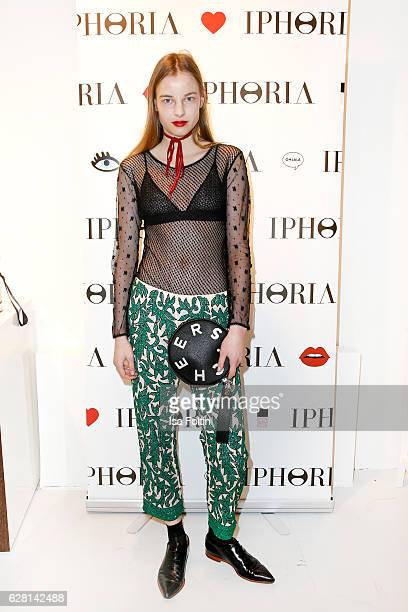 Model Michelle Meinert attends the Iphoria store opening on December 6 2016 in Berlin Germany