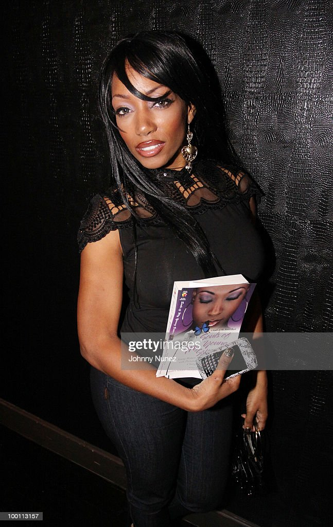 Model Milani Rose attends a press reception for 'Souls of My Young Sisters' at Covet on May 20, 2010 in New York City.