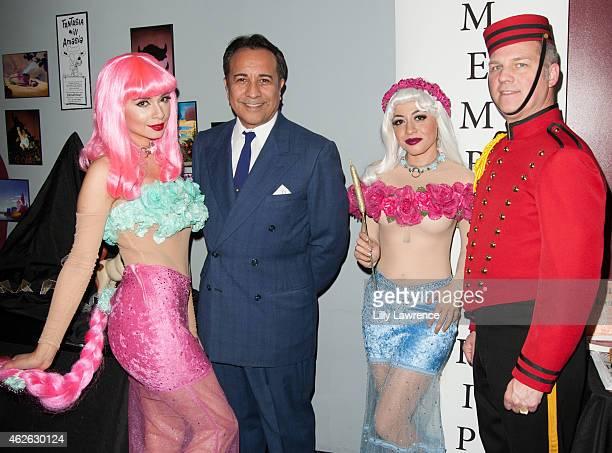 Model Minerva Mendez, Creative Director for Disney Studios David Pacheco, Costume Designer Maria Lizama, and Costumer Rory Cunningham attend the Aero...