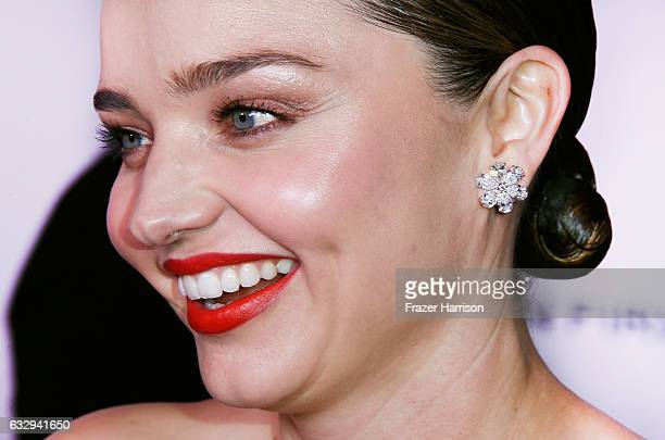 model Miranda Kerr attends Harper's Bazaar Celebrates 150 Most Fashionable Women at Sunset Tower Hotel on January 27 2017 in West Hollywood California