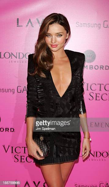 Model Miranda Kerr attends the after party for the 2012 Victoria's Secret Fashion Show at Lavo NYC on November 7 2012 in New York City