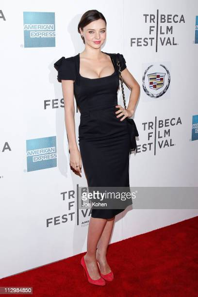 Model Miranda Kerr attends the premiere of 'The Good Doctor' during the 2011 Tribeca Film Festival at BMCC Tribeca PAC on April 22 2011 in New York...