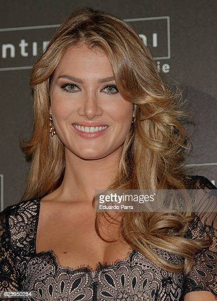 Model Mireia Lalaguna attends the 'Intimissimi 20 years anniversary' photocall at Italian embassy in Spain on November 17 2016 in Madrid Spain