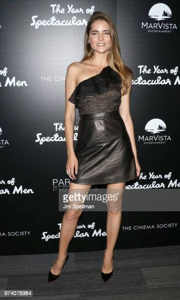 Model Model Aliena Avramenko attends the screening of 'The Year Of Spectacular Men' hosted by MarVista Entertainment and Parkside Pictures with The...