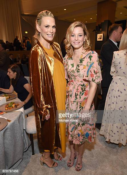 Model Molly Sims and actress Elizabeth Banks attend 2016 March of Dimes Celebration of Babies at the Beverly Wilshire Four Seasons Hotel on December...