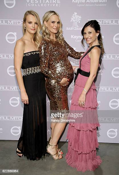 Model Molly Sims and copresidents of Baby2Baby Kelly Sawyer Patricof and Norah Weinstein attend the Fifth Annual Baby2Baby Gala Presented By John...