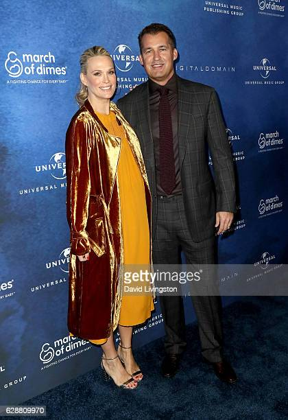 Model Molly Sims and producer Scott Stuber attend the 2016 March of Dimes Celebration of Babies at the Beverly Wilshire Four Seasons Hotel on...