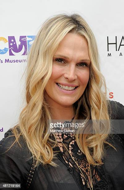 Model Molly Sims attends the Children's Museum of the East End's 7th Annual Family Fair at Children's Museum of the East End on July 18 2015 in...